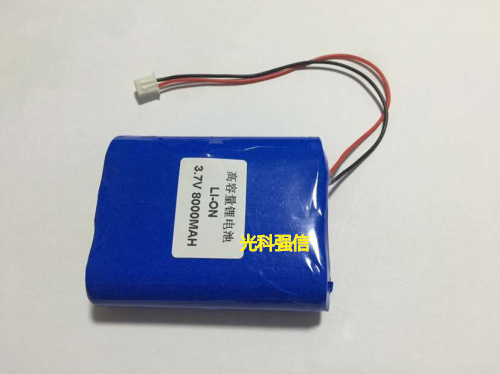 3.7 v li po li-ion batteries au lithium polymère batterie 3 7 v lipo li ion rechargeable au lithium-ion pour 18650 8000 mah 3.7 v avec prise