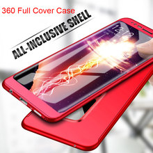 360 Case for Samsung Galaxy A3 A5 A7 2016 J3 J5 J7 2017 EU J4 J6 A6 A8 Plus 2018 Case with Glass on J2 Prime S5 S6 S7 Note 3 4 5(China)