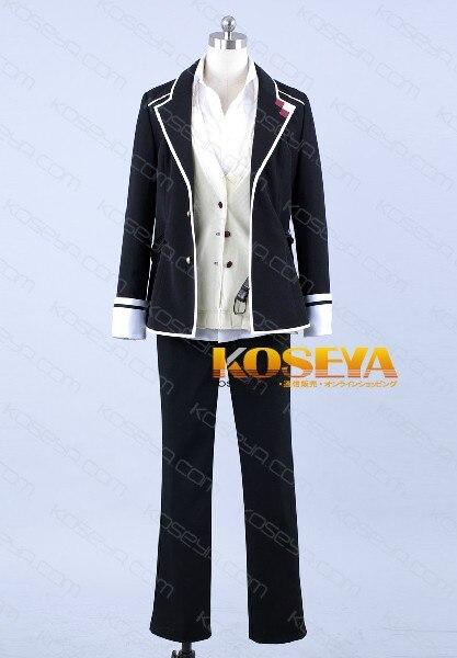 Япония Горячие Рекомендуемые лучшие для аниме Vonvention на заказ Diabolik Lovers Sakamaki Syuu косплей аниме костюм