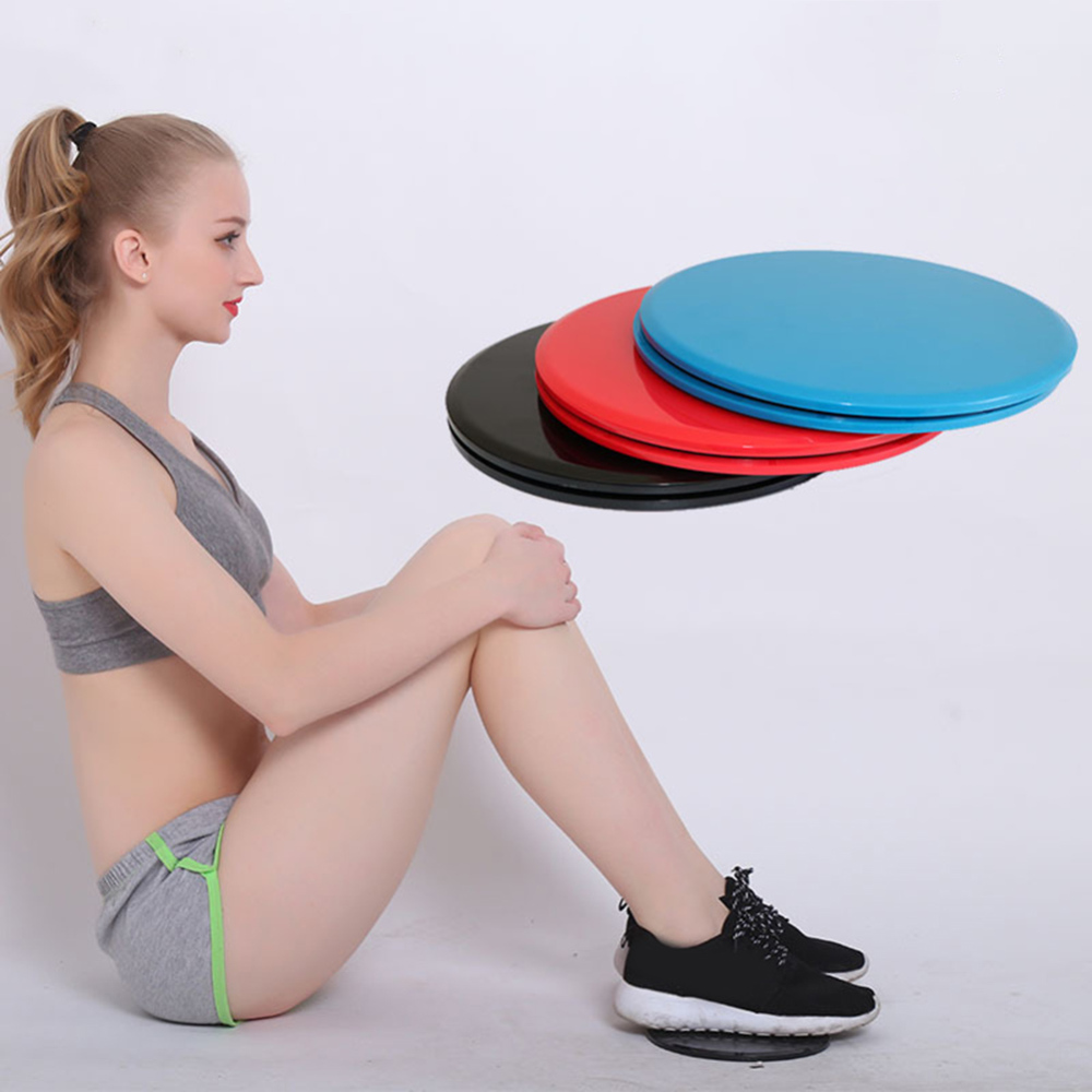 1 Pair Fitness Glide Plate Sliding Plate General Coordination Pad Plate