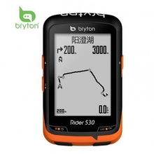 Bryton Rider R530 GPS Bicycle Bike Cycling Display Computer& Extension Mount Speed Cadence Dual Sensor Heart Rate Monitor