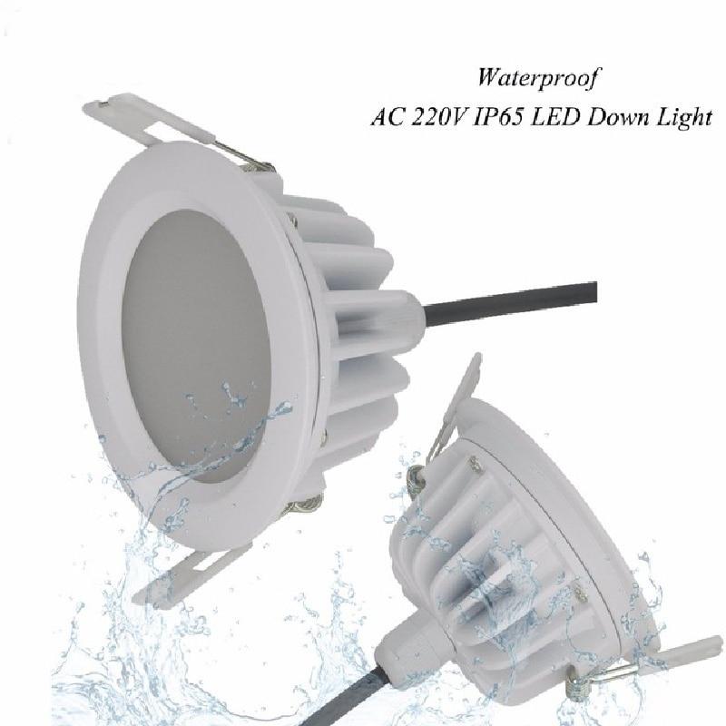 Licht & Beleuchtung Warnen Led Downlight 5 W/7 W/9 W/12 W/15 W Ac85-265v Ip65 Wasserdichte Bad Led Decke Spot Licht