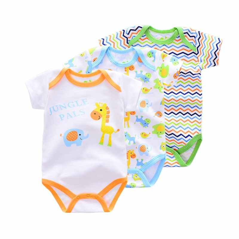 04c229d2614c4 2019 Summer Animal Horse/dog/monkey Baby Boys Rompers Short Sleeve cotton infant  Baby