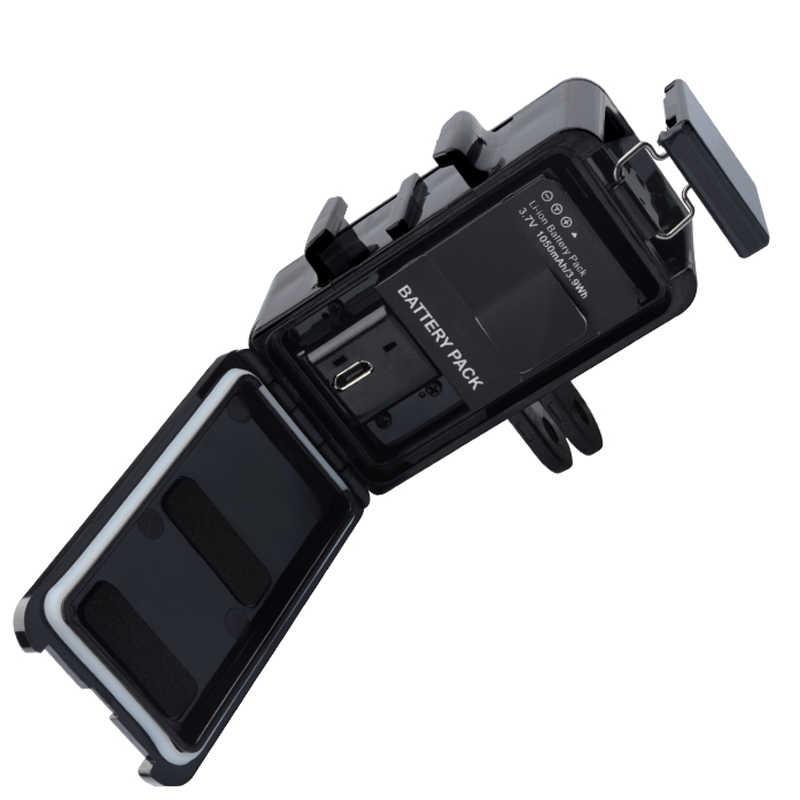 Cho DJI GoPro Dưới Nước Đèn Lặn Đèn LED chống nước Cho Gopro Hero 8 7 5 6 4 Phiên Xiaoyi 4k Osmo Hành Động Phụ Kiện
