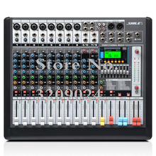 Professional 12 Channel Bluetooth USB Mixer KTV Stage Performance Equipment Conference Level Digital Effect Device