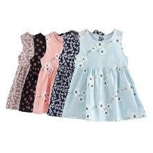 Toddler Girl font b Dresses b font A line Summer font b Dress b font Sleeveless