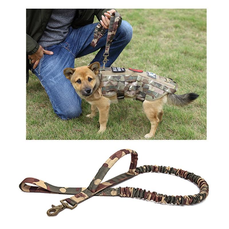 Black Accod Pet//Dog Training Leash Pet Rope Pet Portable Traction Rope 2M Long