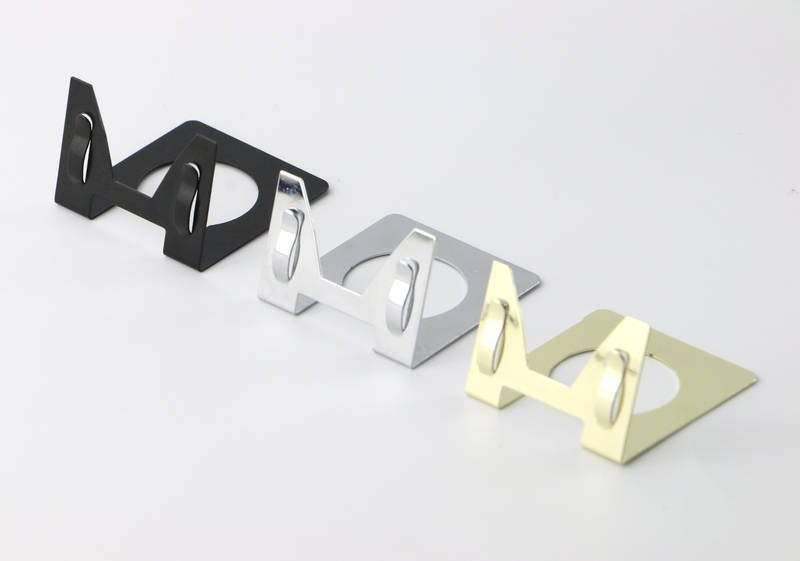 50 pcs metal label holder desk sign clip table price tag display business name card holder pop photo picture clip-in Furniture Accessories from Furniture