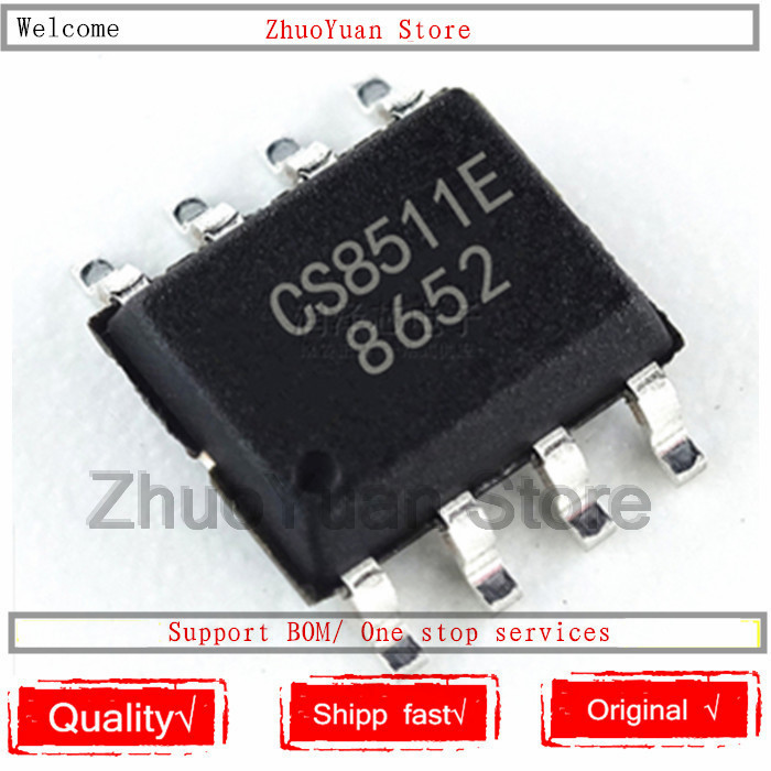 5PCS/lot New Original CS8511E CS8511 SOP-8 IC Chip