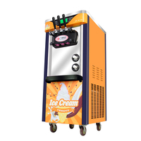 2100W Commercial Soft Ice Cream Machine Automatic Ice Cream Maker Intelligent Soft Serve Ice Cream Machine BJ918CW D2