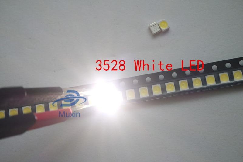 1000pcs 3528 Yellow Ultra Bright Light Diode 1210 SMD LED