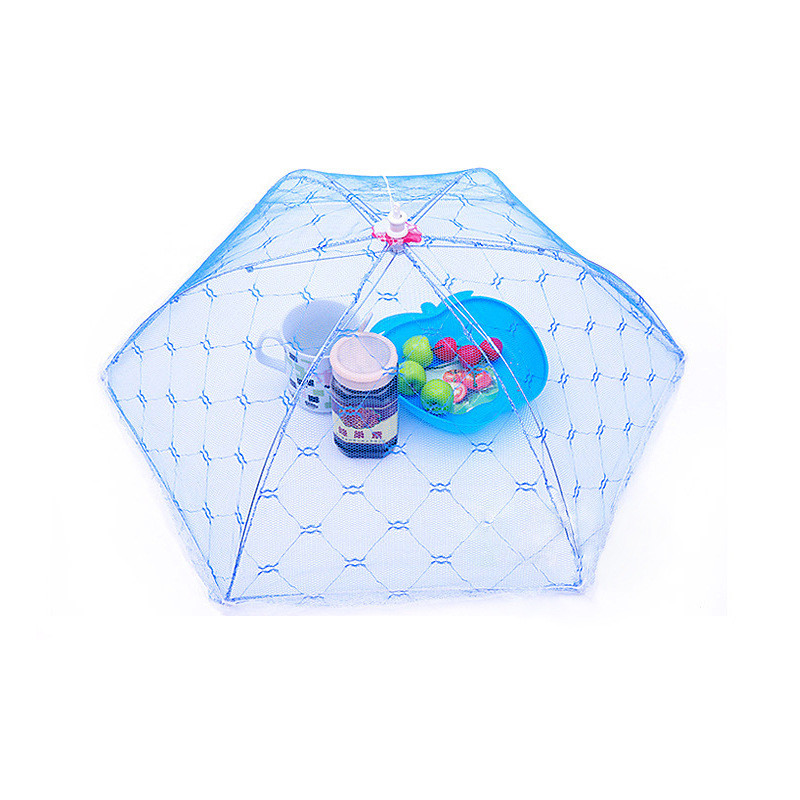 Food Covers Umbrella Shape Picnic Barbecue Party Sports Fly Mosquito Net  Tent Table Food Cover Free