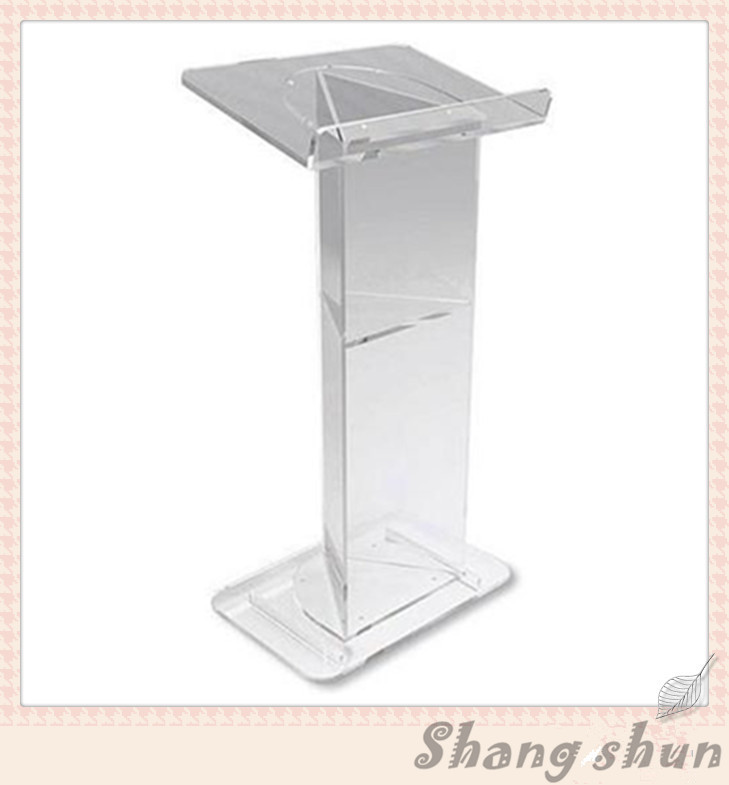 speak lectern stands clear acrylic lecterns clear acrylic a3a4a5a6 sign display paper card label advertising holders horizontal t stands by magnet sucked on desktop 2pcs