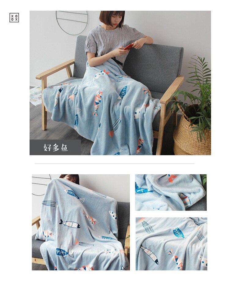 cobertor crianças cobertor inverno grosso colcha capa sofá lance