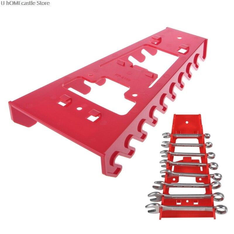 Wrench Spanner Organizer Sorter Holder Tray Socket Storage Rack Plastic Tools Dropshiping