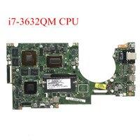 SZWXZY-placa base para portátil ASUS UX51VZA UX51VZ, I7-3632QM o CPU de I7-3612HQ, 4GB de RAM, 2GB, GT650