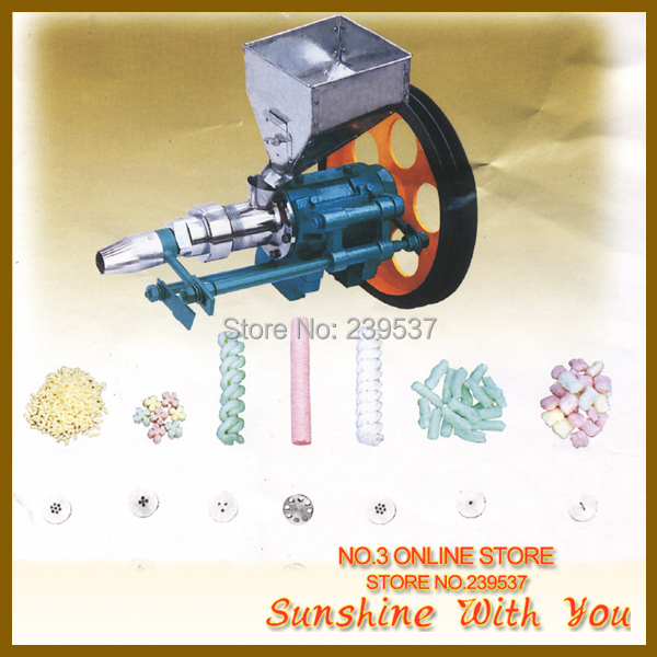 2018 new small hollow corn rice puffed bar extruder ice cream puffed extruder jipangi ice cream cone extrusion
