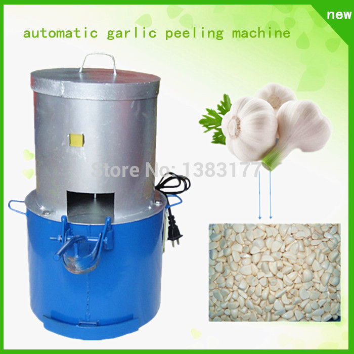 18 upgrade commercial hign output automatic garlic peeling machine garlic peeler garlic machine Garlic Skin Remover 22kg h capacity electric garlic peeler automatic garlic peeling machines garlic processing machine