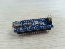 Freeshipping !!! 10PCS Nano 3.0 controller compatible with for arduino nano CH340 USB driver NO CABLE NANO V3.0