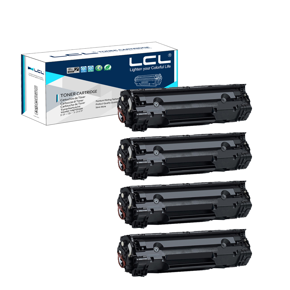 LCL 126 3483B001 (4-Pack Black) Toner Cartridge Compatible for Canon 6200D наушники philips she3515wt she3515wt 00