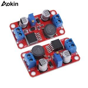 Image 1 - XL6019 automatyczne step up prądu stałego Dc regulowany konwerter moduł zasilania 20W 5 32V do 1.3 35V