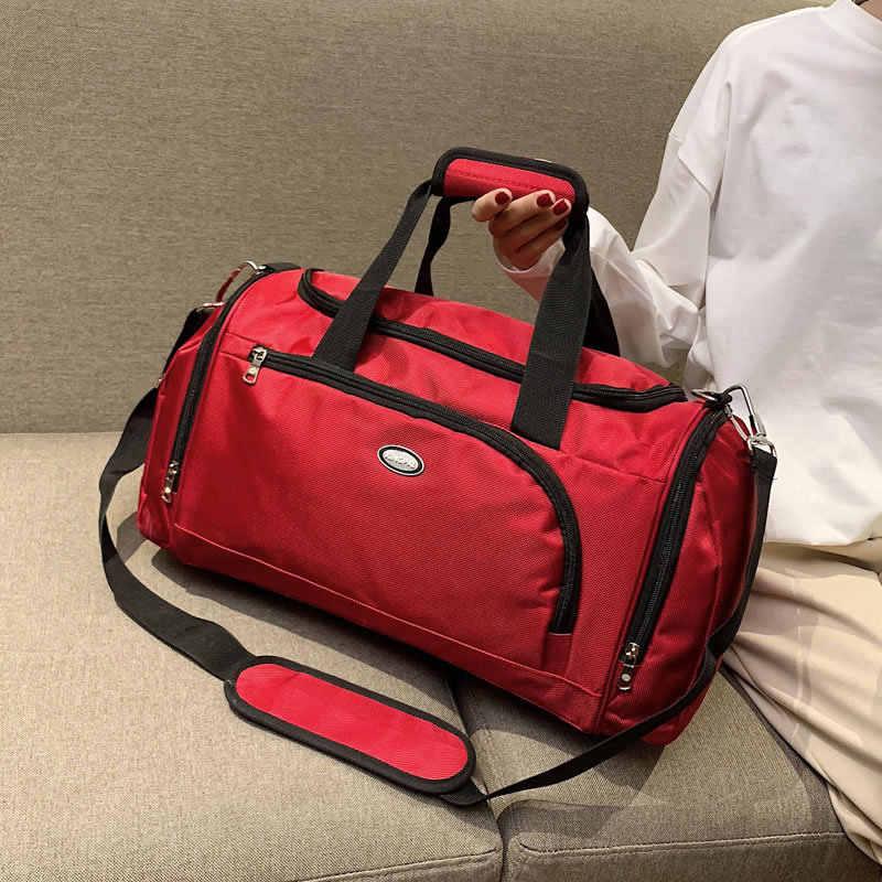 מותג תיקי נסיעות עמיד למים קיבולת גדולה מטען יד נסיעה דבורה תיק אופנה נשים השבוע נסיעות דובון תיק תיקי 2019