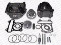 Производительность 52 ММ Цилиндра Поршневых колец Прокладка Головки Распредвала Комплект GY6 120CC 88 МЛ Jonway Baotian Солнечный Keeway 50CC Скутер части