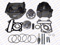 Performance 52MM Cylinder Piston Ring Gasket Head Camshaft Kit GY6 50CC 120CC 88ML Jonway Baotian Sunny Keeway Scooter Parts