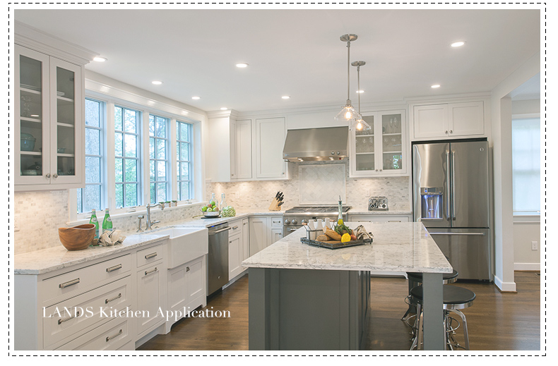 Mosaico di marmo di carrara bianco grigio piastrelle cucina