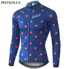 Phtxolue Cycling Jersey Winter Thermal Fleece Warm 2016 Pro Mtb Long Sleeve Men Bike Wear Clothing