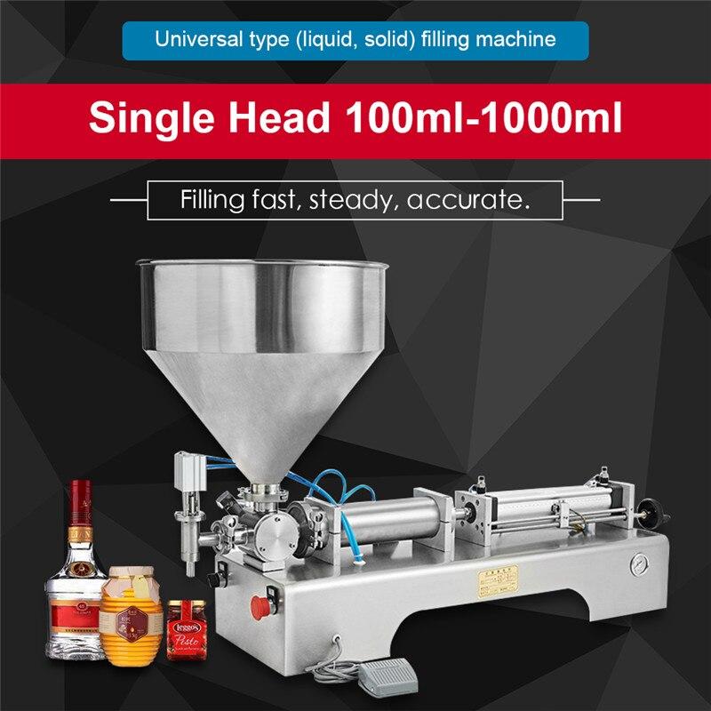 Высокое качество Автоматическая паста машина для наполнения жидкости машина масло Вода сок мед мыло Крем паста наполнитель