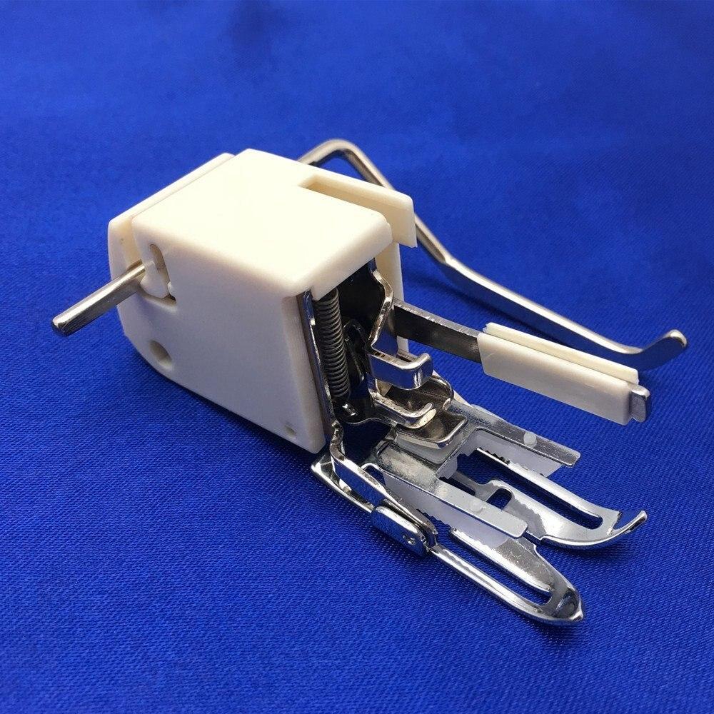 Прижимная лапка для швейной машины, лапка с низким хвостовиком, стеганая направляющая нога, подходит для Brother Singer #(5 мм) 214875014 7yj139