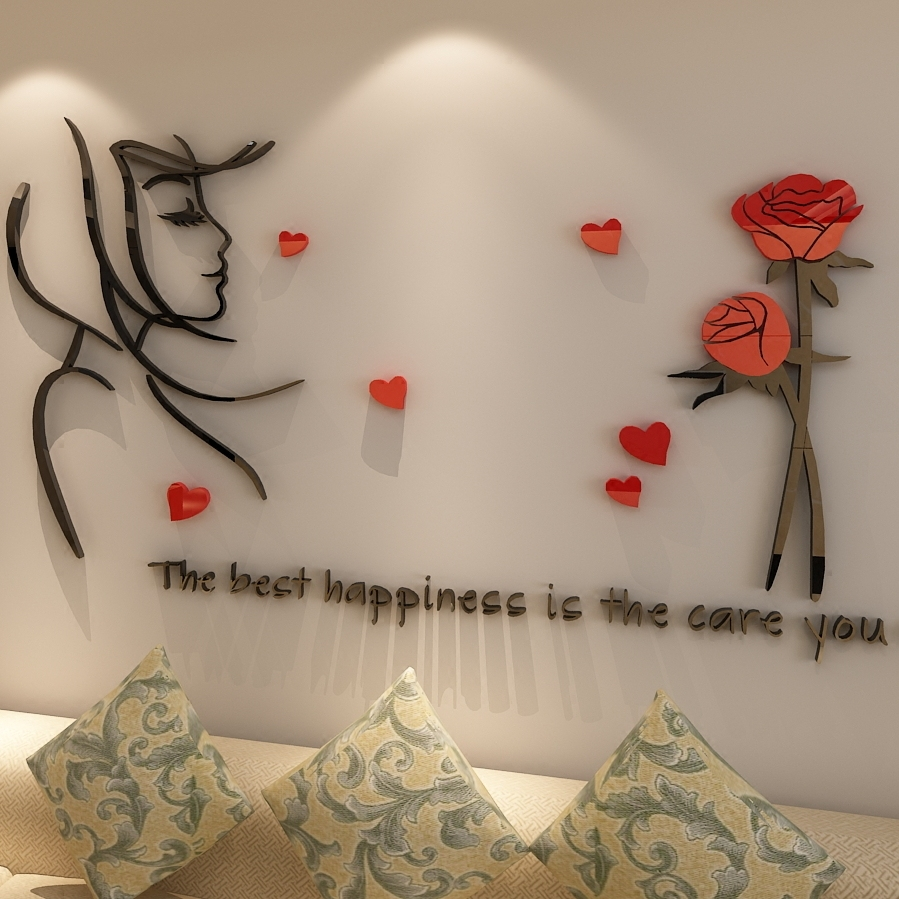 Rose Wall Decor online get cheap rose wall decor -aliexpress | alibaba group