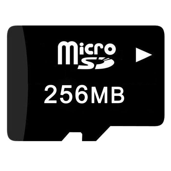 Prix pour Livraison gratuite 20 pcs/lot 256 MB CARTE MICRO SD transflash carte 256 MB TF carte