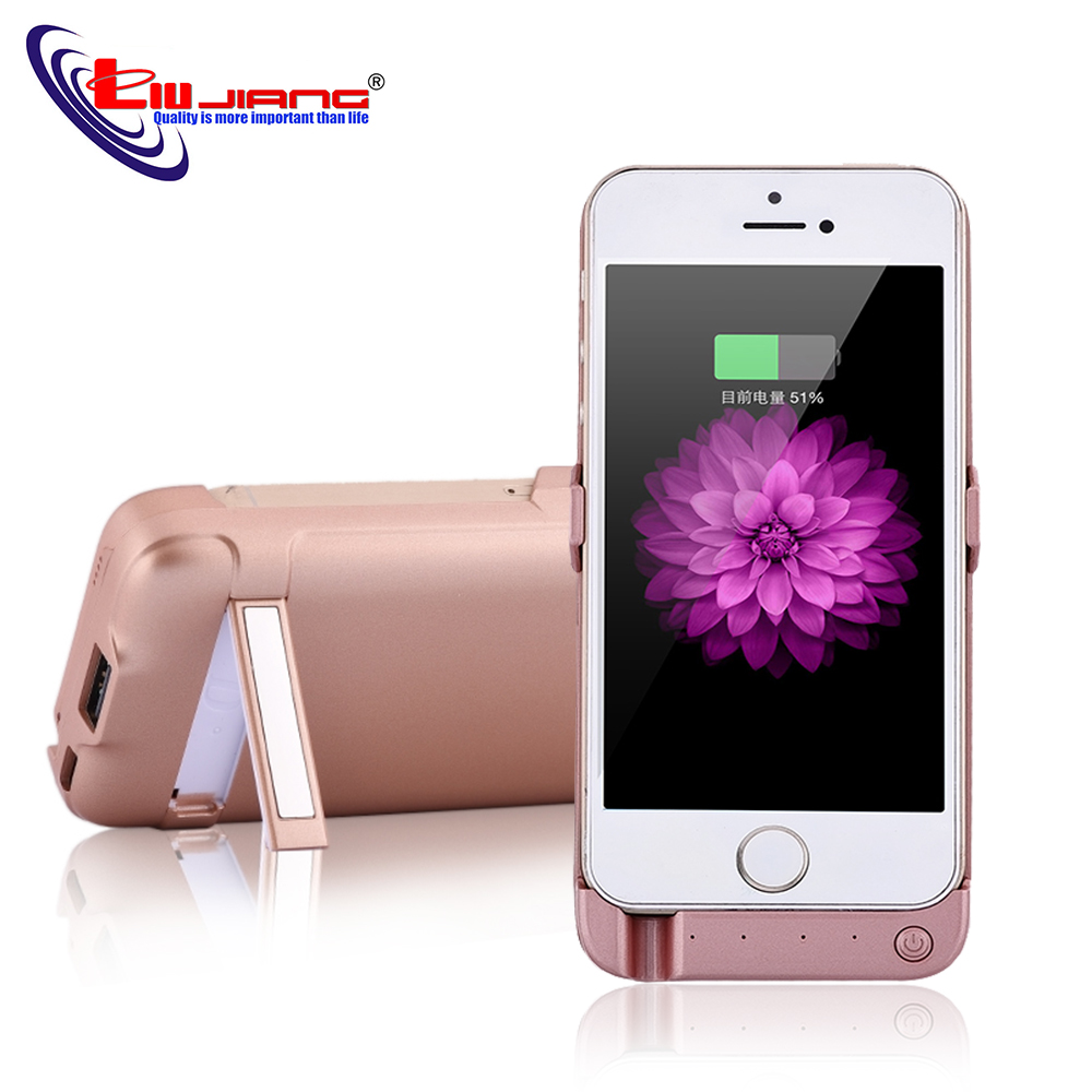 Battery Charging Case For iPhone 5S SE 4200mAh Power Bank Case External Battery Pack Backup For iPhone SE Portable Charger Case