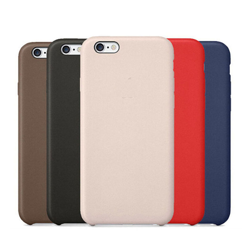 Leather Case Back font b Cover b font for iPhone 5 5s SE 6 6s Plus