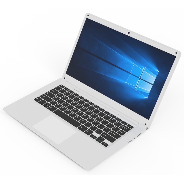 14.1 Inch Exquisite Laptop Windows 10 Quad-core Intel Cherry Trail Z8350 4GB 64GB Ultrabook Dual Camera notebook