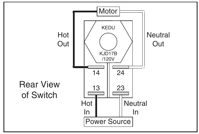 Safety Switch Wiring Diagram Push Botton Reed Switch