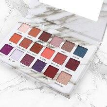 Marble 18 Eyeshadow Palette Hot Sale Pearl Eye Makeup Matte Shadow Girl Multicolor