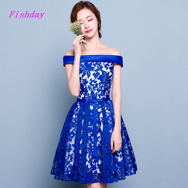 b8cfb03b009e9 Royal Blue A line Cheap Short Tight Sexy Fitted 8th Grade Formal Knee  Length Gorgeous Homecoming Dresses 2016 for Juniors A20-in Homecoming  Dresses ...