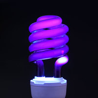 Е27 36 вт уф-ультрафиолетового дневной свет энергосбережение яркий лампы клл