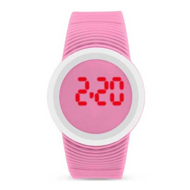 Fashion Technological Sense LED Touch Screen digital Watches Electronic Display