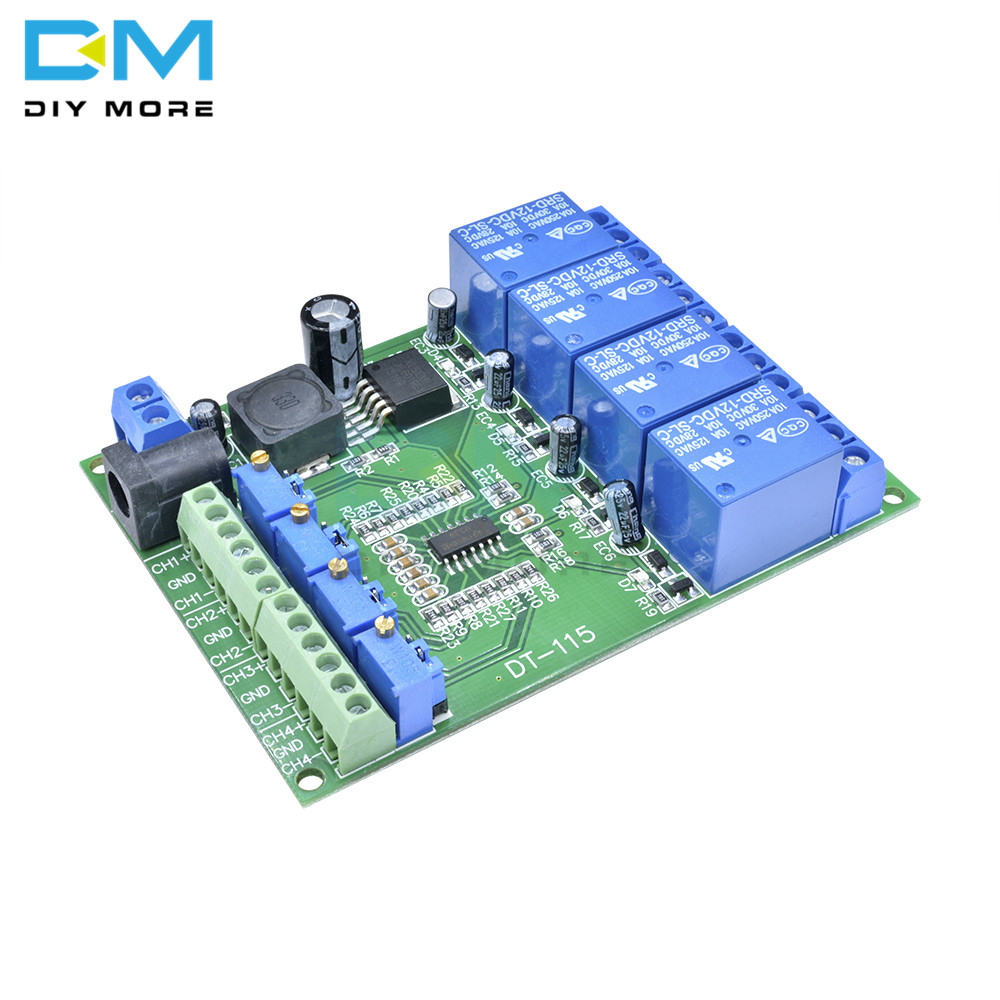 DC 12V 4 Channel 4CH 4 CH Voltage Comparator Stable LM393 Comparator