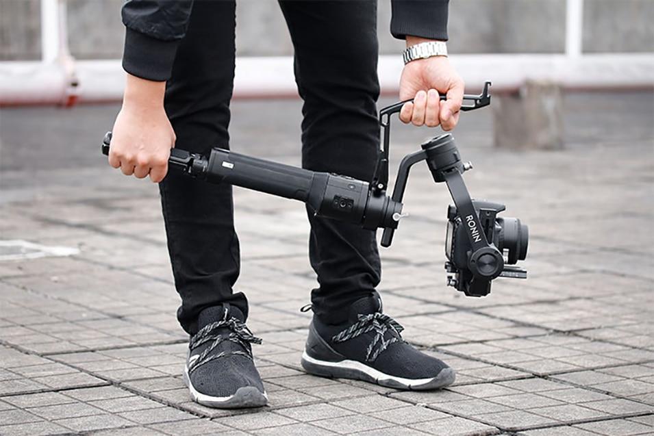 Gimbal Accessories Inverted Handle Sling Grip Neck Ring Mounting Extension Arm for DJI Ronin S Zhiyun Crane 2 /Plus Feiyu AK4000 11