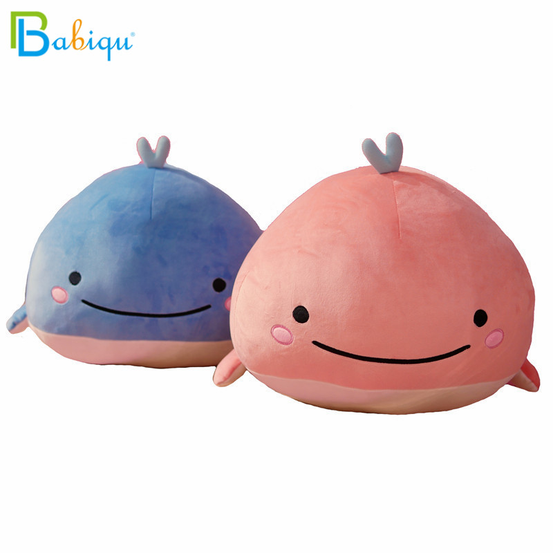 Buy Cheap Soft Whale Doll Cute Whale Pillow With Blankets Plush Toys 45cm Car Home Decoration Stuffed & Plush Animals
