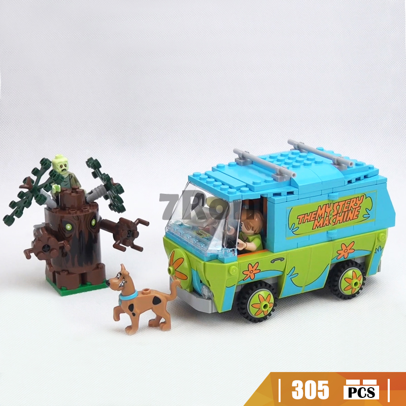 Compatible With Lego 75902 Mystery Machine Bus Scooby Doo