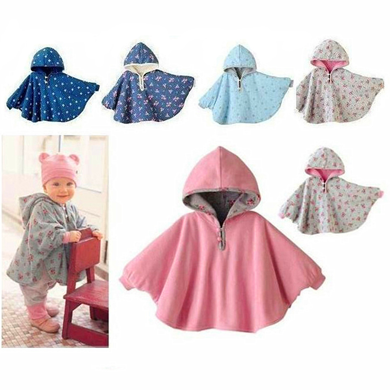 Baby-Coats-boys-Girls-Smocks-Outwear-Fleece-cloak-Jumpers-mantle-Childrens-clothing-Poncho-Cape-1