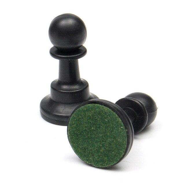 Ensemble d'échiquier traditionnel d'échecs portatif de voyage pour le Club de tournoi avec le conseil enroulable vert + le jeu d'échecs de sac en plastique 5