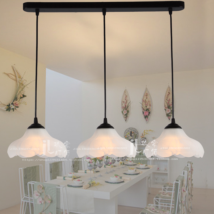 A1creative personality Dining room bar pendant lamps single head table lamp rural rural style chandelier Cafe lamps