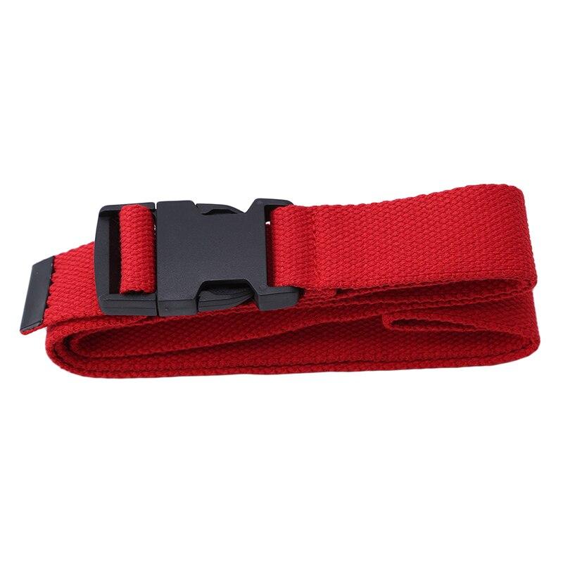 116 см Регулируемый универсальный ремень для девочек и мальчиков унисекс корейский стиль холщовые ремни Harajuku Пряжка сплошной цвет длинный ремень cinturon mujer - Цвет: red